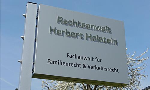 Philosophie vom Anwalt Herbert Holstein